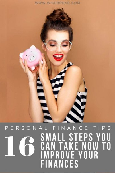 With the new year here, it's time to take control of your financial goals. From creating a household budget, to calculating your net worth, or setting a monthly savings amount, we've got 16 small steps you can take to improve your finances.   #personalfinance #moneymatters #budgeting